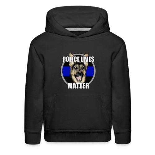 Police lives matter - Kids' Premium Hoodie