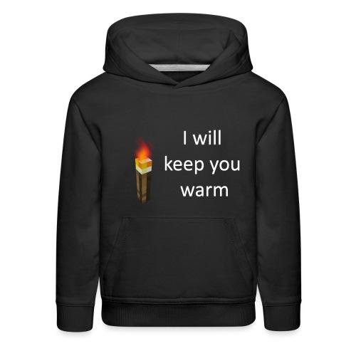 warme trui - Kids' Premium Hoodie