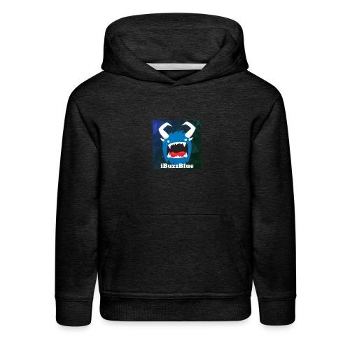 Kid's iBuzzBlue Logo Premium Hoodie - Kids' Premium Hoodie