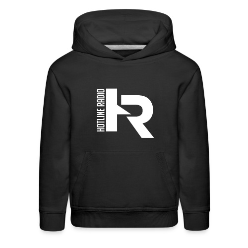 Kids Black Hoodie Available in Different Colors and Sizes - Kids' Premium Hoodie