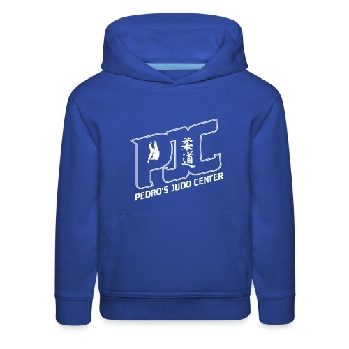 Kids' Premium Hoodie - Missed the pre-order? Order your custom Pedro's Judo HGo here in any size or color! Please note there is NO back design.