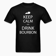Keep Calm and Drink Bourbon T-Shirts
