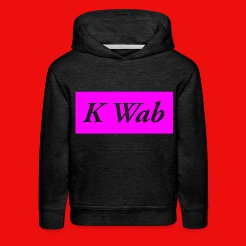 Kid's Pink Hoodie - Kids' Premium Hoodie