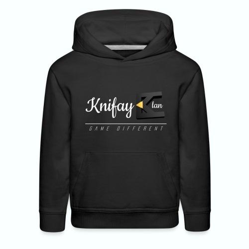 KCOS- Kids Black Sweater - Kids' Premium Hoodie