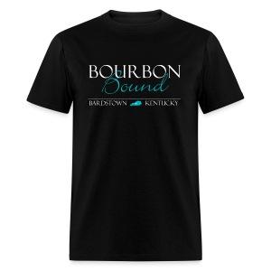 Bourbon Bound - Mens Royal Black - Men's T-Shirt