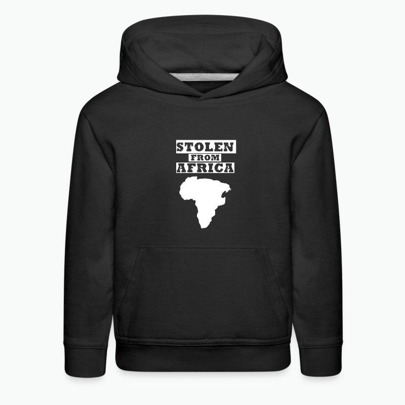 Stolen From Africa Kids Hoodie (White Logo) - Kids' Premium Hoodie
