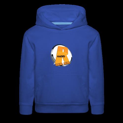 Ideal Real Radio Logo Hooded Sweatshirt - Kids' Premium Hoodie