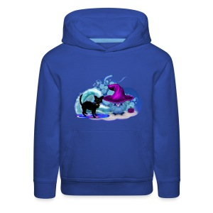 Halloween at the Beach - Kids' Premium Hoodie