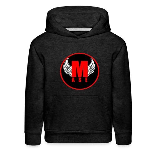 Hoodie mase, met logo. - Kids' Premium Hoodie