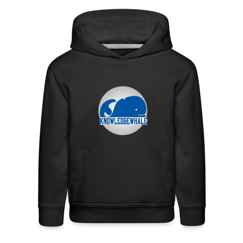 Kids Enclosed KnowledgeWhale New School Casual Hoodie - Kids' Premium Hoodie