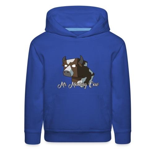 Mr. Mocking Cow - Kids' Premium Hoodie
