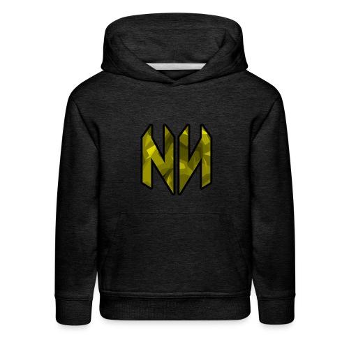 NWJ (Yellow) - Kids' Premium Hoodie