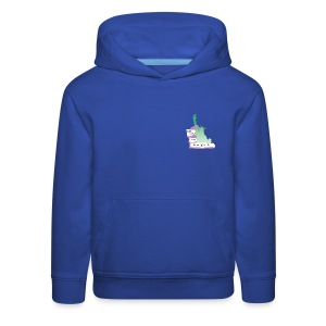 Lady Liberty Is An Immigrant, F&B - Kids' Premium Hoodie