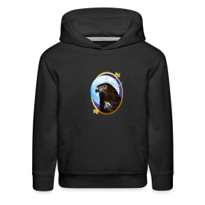 Black-chested snake eagle - Kids' Premium Hoodie