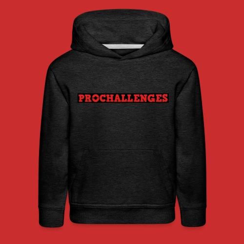 Kid's Prochallenges Premium Hoodie (Grey) - Kids' Premium Hoodie