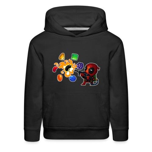 Kids Deadpool vs. Candy Hoodie - Kids' Premium Hoodie