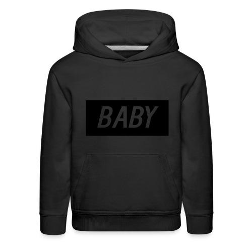 Official BabyDonut Kids' hoodie (Black) - Kids' Premium Hoodie