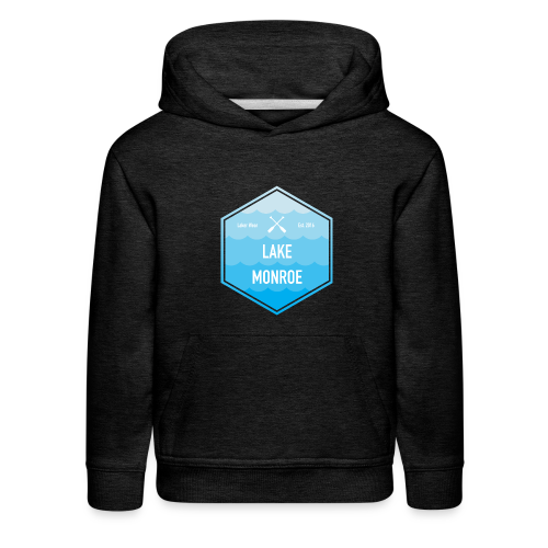 Boat Lake Monroe - Kids' Premium Hoodie