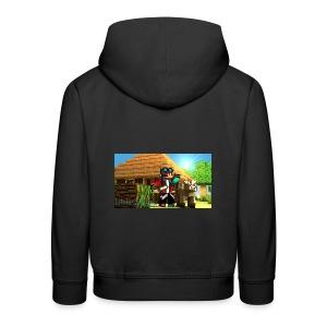 lalnla jacket - Kids' Premium Hoodie