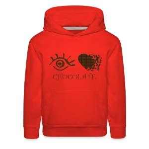 Eye-Love Chocolate - Kids' Premium Hoodie