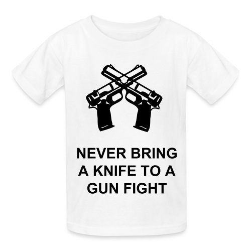 GUN FIGHT - Kids' T-Shirt