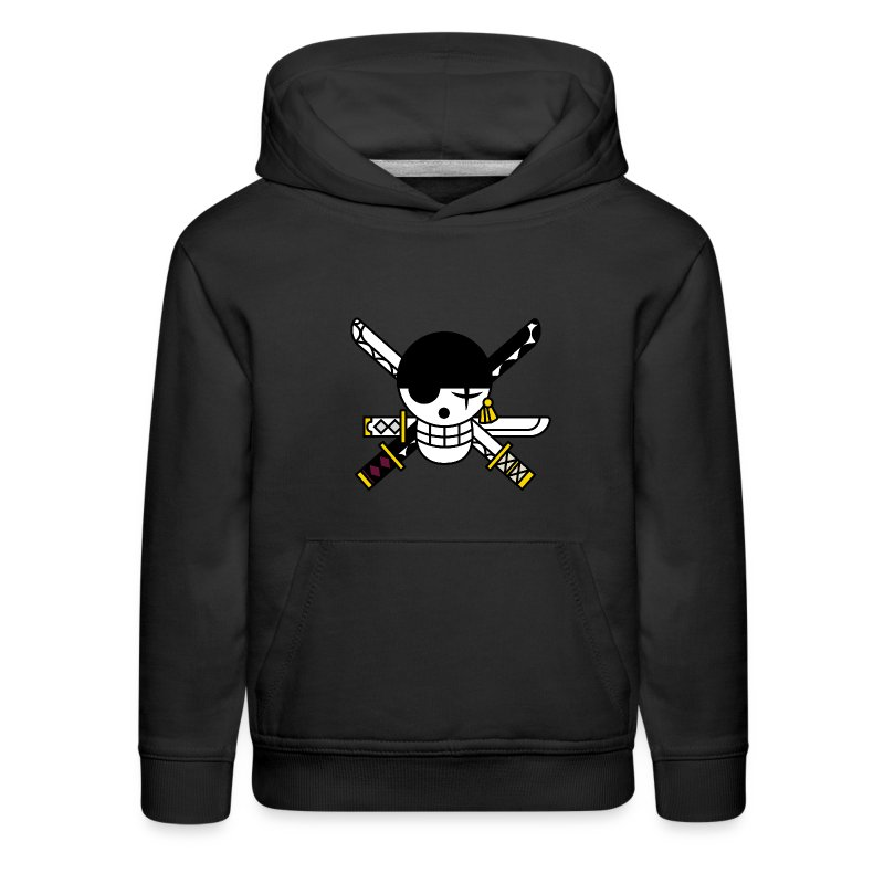 قميص شعار زورو - Kids' Premium Hoodie