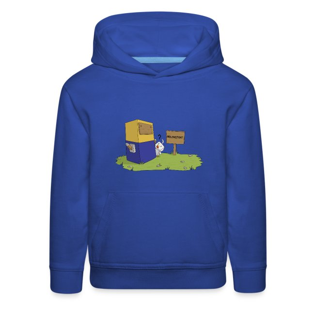 Statue - Premium Kid's Hoodie