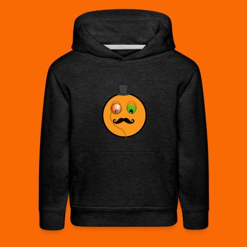 Kids Orangeman Hoodie (WHITE) - Kids' Premium Hoodie