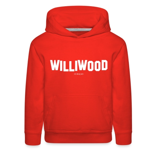 Williwood Design - free color selection - Kids' Premium Hoodie