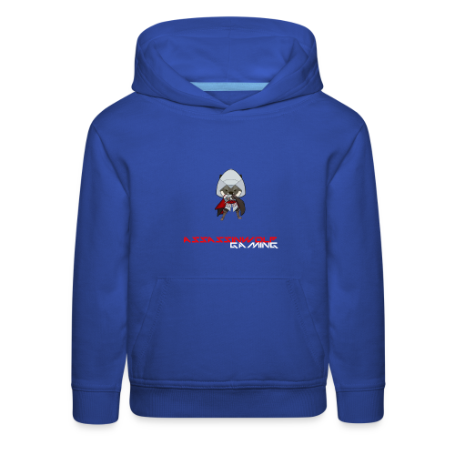 royal blue assassinwolf hoodie - Kids' Premium Hoodie