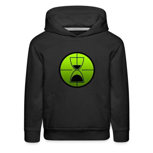 TimeShot Emblem - Kids' Premium Hoodie