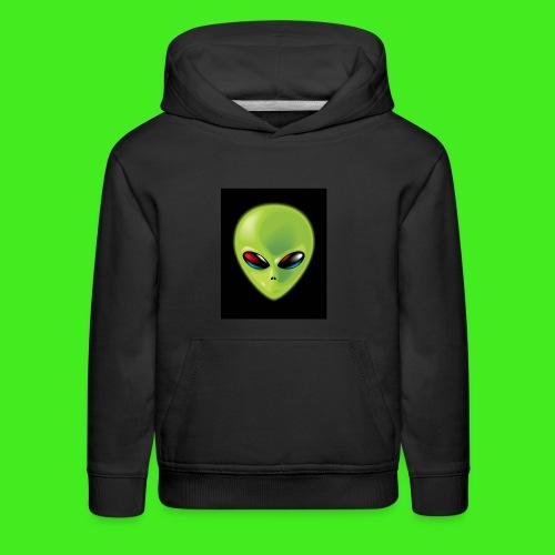 awg face sweater! - Kids' Premium Hoodie