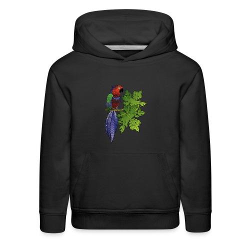 Parrot Kid's Premium Hoodie by South Seas Tees - Kids' Premium Hoodie