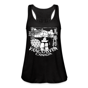 Vancouver Shirt Women's Vancouver Canada Shirt - Women's Flowy Tank Top by Bella