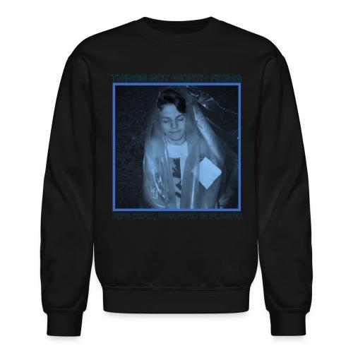 Zack's Dead Crewneck (Black) - Crewneck Sweatshirt