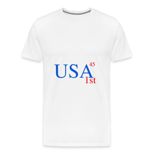 USA First Trump - Men's Premium T-Shirt