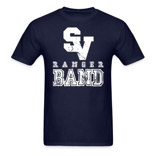 Ranger Band - 2 Sided - Im With the Band - Mens - Men's T-Shirt