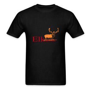 Elkaholic Bull - Men's T-Shirt
