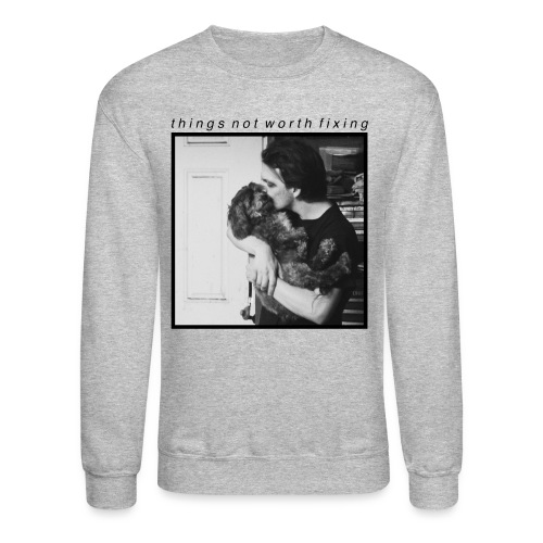Josh and Snoop Crewneck (Gray) - Crewneck Sweatshirt