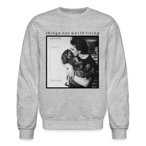 Josh and Snoop Crewneck (Gray) - Crewneck Sweatshirt