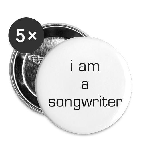 Songwriter Button - Large Buttons