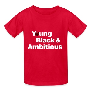 Kid's YBA T-Shirt - Red - Kids' T-Shirt