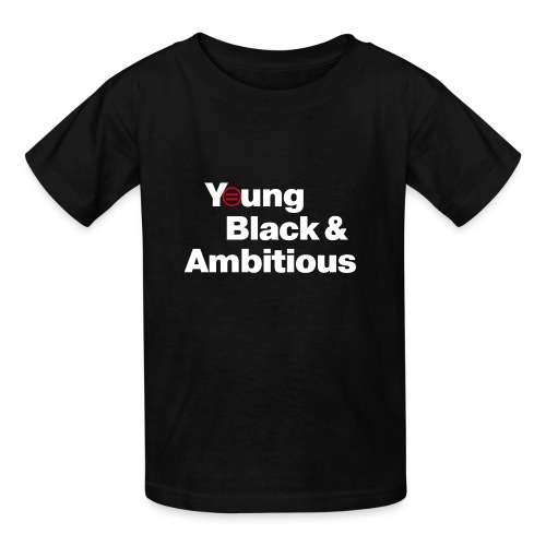 Kid's YBA T-Shirt - Black - Kids' T-Shirt
