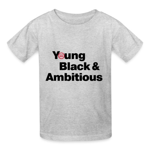 Kid's YBA T-Shirt - Light Gray - Kids' T-Shirt