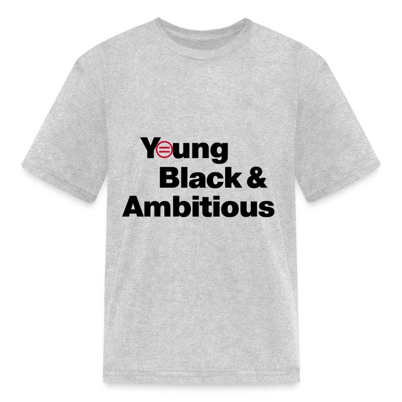 Kid's YBA T-Shirt - Light Gray - Kids' T-Shirt