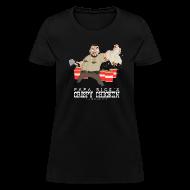 T-Shirts ~ Women's T-Shirt ~ Papa Rick's Crispy Chicken Women's T-Shirt