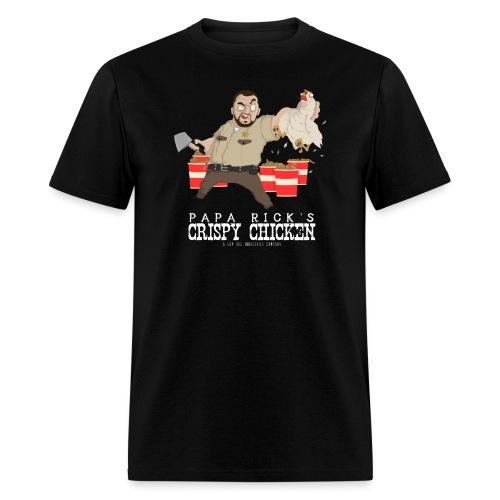 Papa Rick's Crispy Chicken T-Shirt - Men's T-Shirt