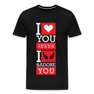 I Love You Jesus - Men's Premium T-Shirt
