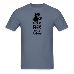 Please Do Not Feed This Animal - weight loss T shirt - Men's T-Shirt