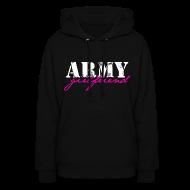 Hoodies ~ Women's Hoodie ~ ARMY GF sweatshirt